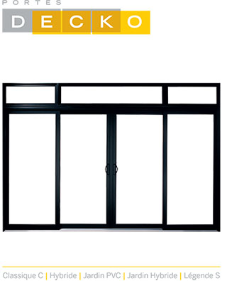 PDF de vente Service de vente de porte-patio à Joliette - Portes et Fenêtres E. Charrier