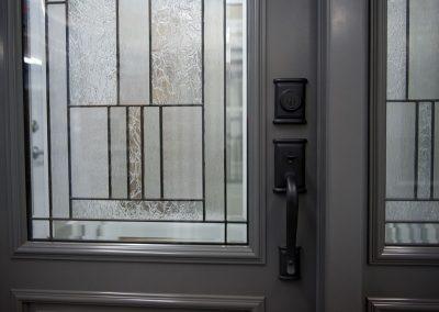 Vente et installation de porte certifiée Energy Star avec fenêtre - Portes et Fenêtres E. Charrier - St-Ambroise-de-Kildare